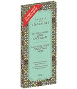 Galerie au Chocolat No Sugar Added Dark Chocolate Bar