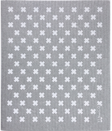 Ten & Co. Swedish Sponge Cloth Gray/White Tiny X