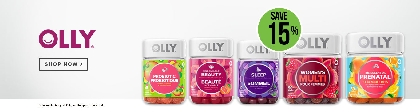 Save 15% on Olly