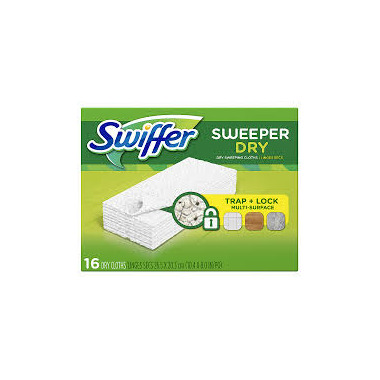 Swiffer - Sweeper Refills Dry Disposable Cloth
