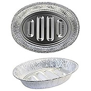 Signature Kitchen - Oval Foil Roaster Pan