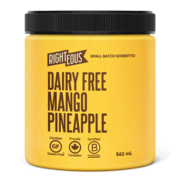 Dairy-Free Mango & Pineapple Gelato