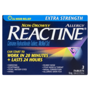 Reactine - Tablets Extra Strength 3s
