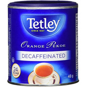 Tetley - Tea Bags - Orange Pekoe - Decaffeinated - 24 Pack