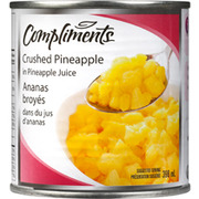 Compliments - Crushed Pineapples