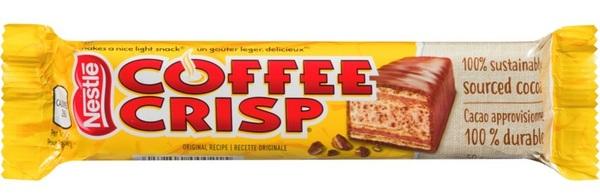 Nestle - Coffee Crisp - Original Recipe