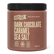 Dark Chocolate Caramel Sea Salt Gelato