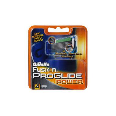 Gillette - Fusion Proglide Power Cartridge 4Pk
