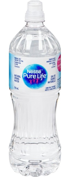 Nestle - Pure Life - Natural Spring Water - Sport Cap