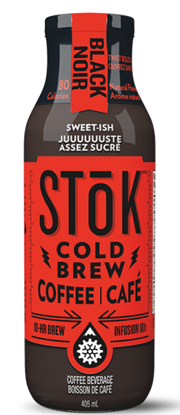 STōK - Not-Too Sweet Cold Brew Coffee