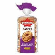 Dempster's Cinnamon Raisin Bagels