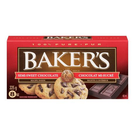 Bakers - Semi Sweet Chocolate Squares