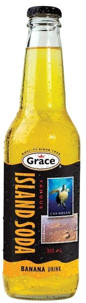 Grace - Famous Island Soda - Banana Drink
