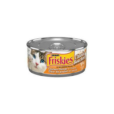 Friskies - Chunks Chicken Dinner In Gravy