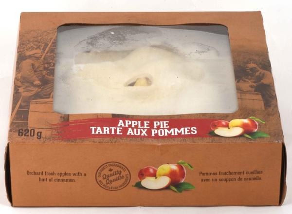 "Apple Valley Food - 8"" Unbaked Apple Pie"