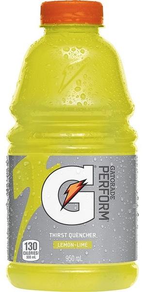 Gatorade - Perform - G - Thirst Quencher - Lemon-Lime