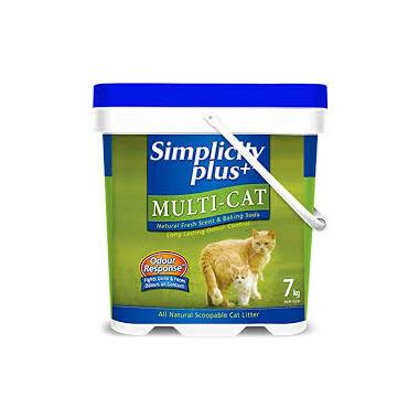 Simplicity Multi-Cat Litter (*)