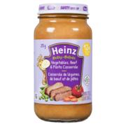 Heinz - Baby - Vegetables, Beef & Pasta Casserole