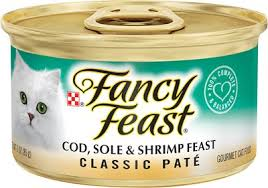 Fancy Feast - PATE Cod Sole Shrimp