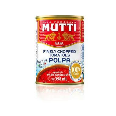 Mutti - Organic Chopped Tomatoes