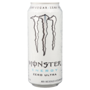Monster - Energy Zero Ultra (White)