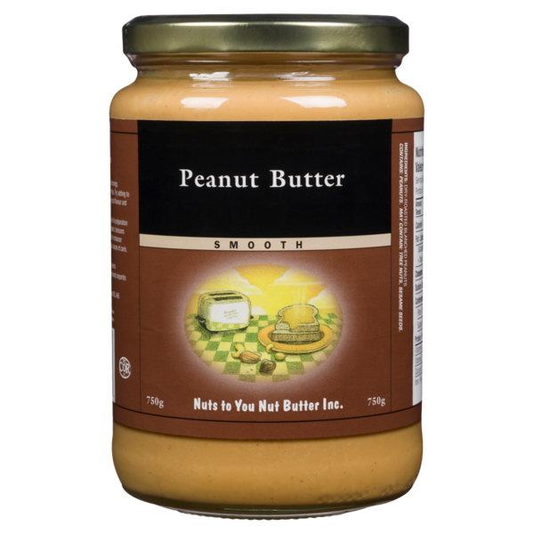 Nuts To You - Peanut Butter - Smooth