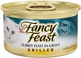 Fancy Feast - GRILLED Turkey in Gravy