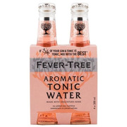Fever-Tree - Tonic Water - Aromatic - 4 Pack