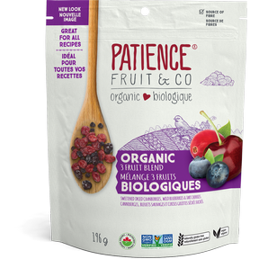 Patience Fruit & Co - Organic 3 Fruit Blend