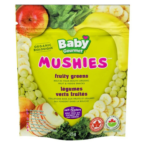 Baby Gourmet - Mushies Fruity Greens