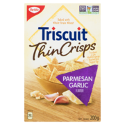 Christie - Triscuit Thin Crisps - Parmesan Garlic