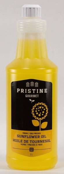 Sunflower Oil - Cold Pressed - Virgin