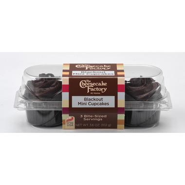 CCF - Blackout Mini Cupcake - 3 Pack