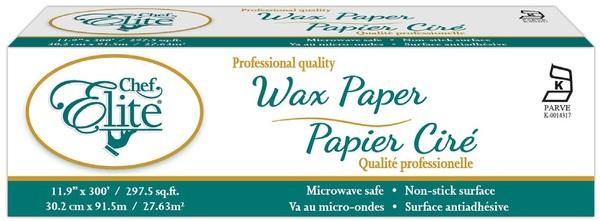 Chef Elite - Wax Paper - 30.2 cm x 91.5 m