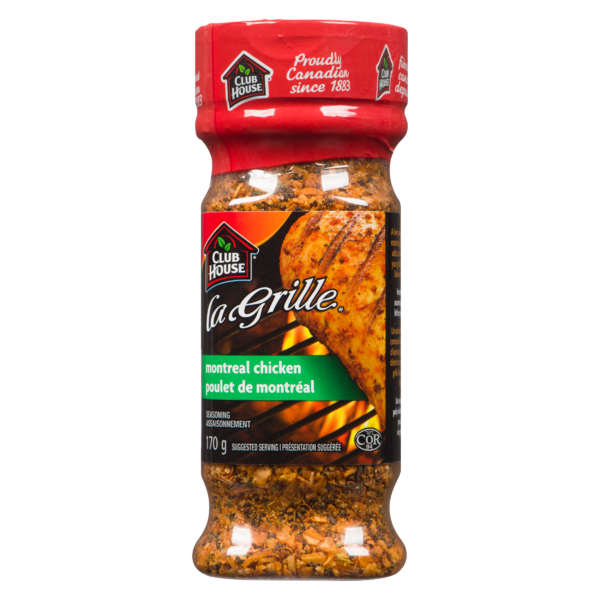 Club House - La Grille Montreal Chicken Seasoning