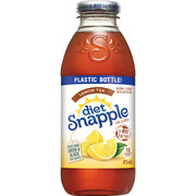 Snapple - Diet - Lemon Tea - Natural Flavour with Aspartame