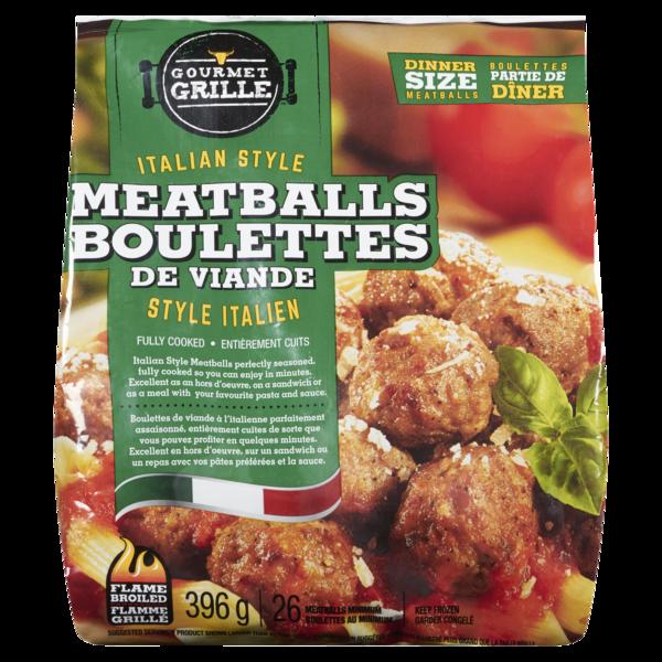 Gourmet Grille - Italian Style Meatballs