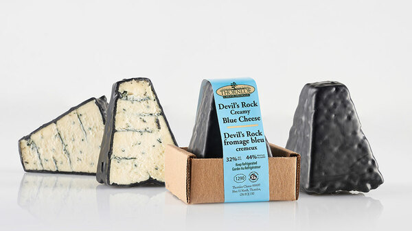 Devil's Rock - Creamy Blue Cheese - Pyramid Pack
