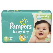 Pampers Diapers - Baby Dry Jumbo Size 2