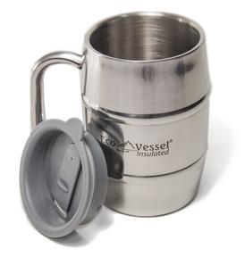 Eco Vessel - Double Barrel Insulated Mug
