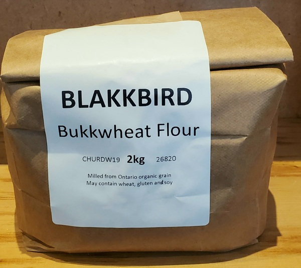 Blakkbird Buckwheat Flour