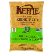 Kettle - Krinkle Cut - Potato Chips - Dill Pickle