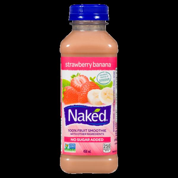 Naked Juice Strawberry Banana Juice Smoothie   Hy-Vee