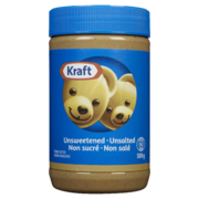 Kraft Peanut Butter - Unsweet Unsalt Smooth