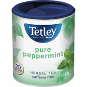 Tetley - Tea Bags - Herbal Tea - Pure Peppermint - 20 Pack