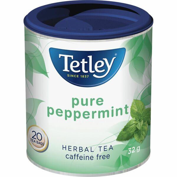 Tetley - Tea Bags - Herbal Tea - Pure Peppermint - 20 Pack
