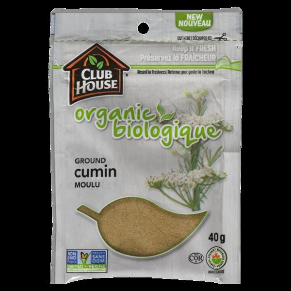 Club House - Organic Ground Cumin Bag