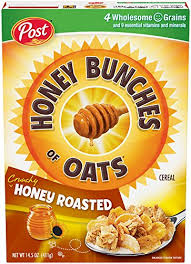 Post Cereal - Honey Bunches of Oats Honey Roasted