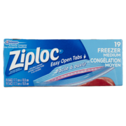 Ziploc Freezer Bags Medium