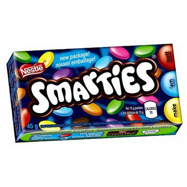 Nestle - Smarties - Candy Coated Milk Chocolate